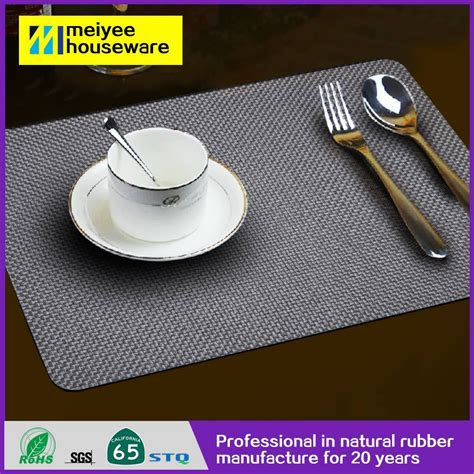 rubber table top mat restaurant table mats dining table
