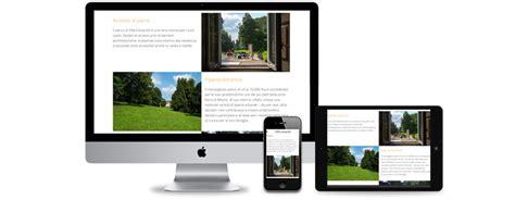 website design for a retirement home villa cenacolo milan