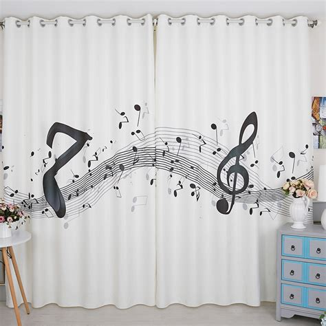 music window curtains music notes curtains reviews online shopping music notes