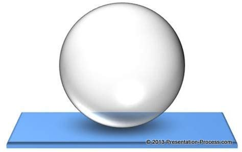 transparent powerpoint sphere tutorial