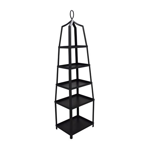 etagere decorative metal 70 ballard designs ballard design grand tour black