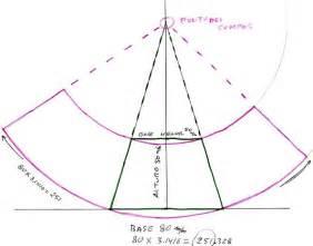 desarrollo tronco cono doovi desarrollo de un cono truncado fofucha pinterest