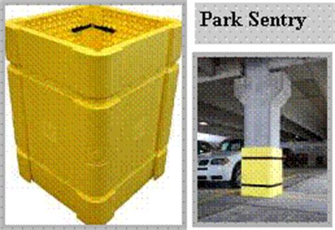 Parking Garage Column Protection by Product Detail Protectors