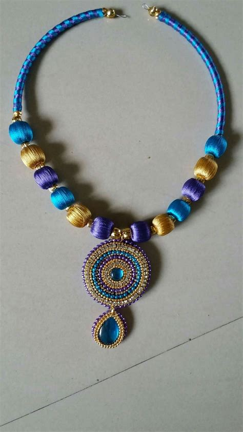 Handmade Threads - 17 best images about silk thread jewelry on