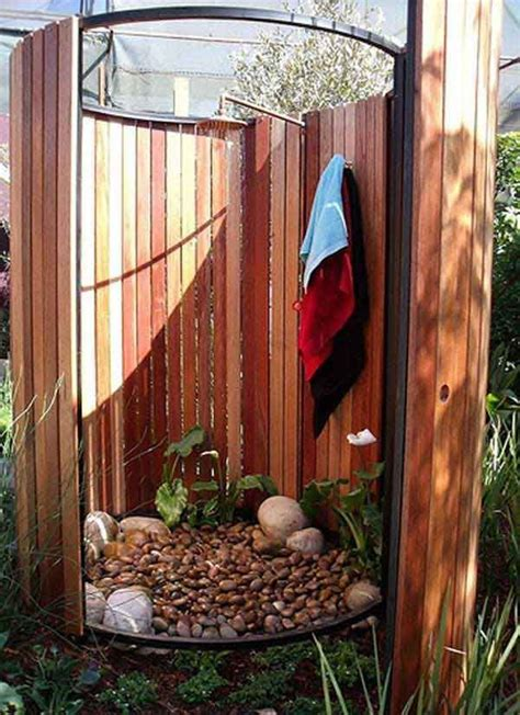 outdoor cing shower ideas les 96 meilleures images 224 propos de backyard ideas sur