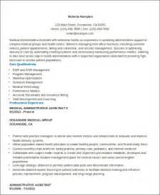 Administrative Assistant Doctor Office Resume Sle Customer Service Resume 6 Exles In Word Pdf