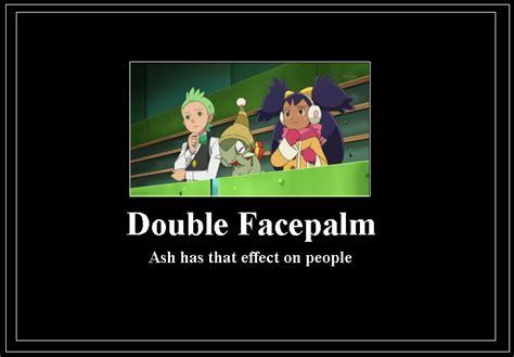 Double Facepalm Meme - purrloin pokemon memes images pokemon images
