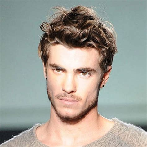 mens cuts wavy hair make face look thinner men s bed head hairstyles inspirations how to rock it