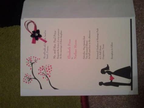 My Wedding Invitation by My Vistaprint Wedding Invitations Weddingbee