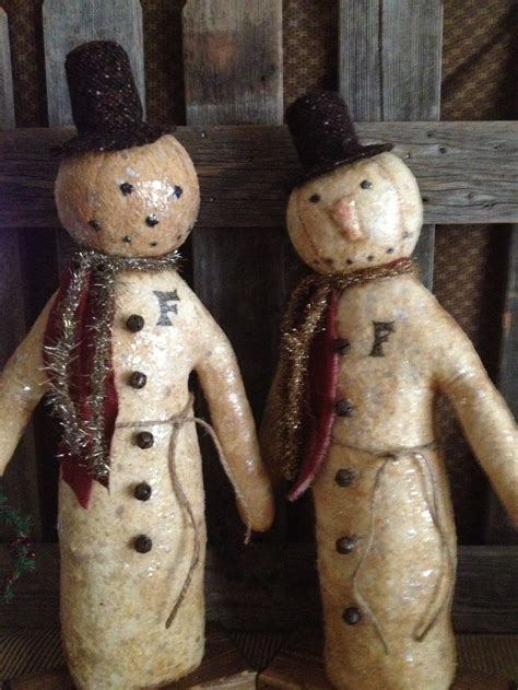 paper mache snowman new year decorations ornaments christmas 174 best snowpeople too images on pinterest paper mache