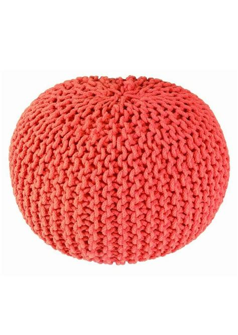 knitting a pouf 25 best ideas about knitted pouf on knitted
