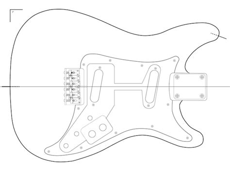 fender neck template a plans woodwork gibson guitar plans pdf guide