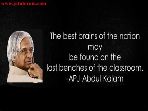 apj abdul kalam biography for students 20 inspirational and successful quotes by apj abdul kalam