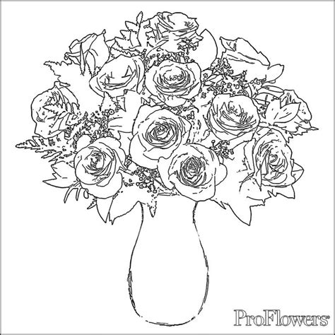 rose coloring pages pdf roses coloring pictures 2 free coloring page site