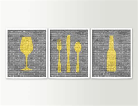 dining room art prints modern dining room art kitchen prints beer wine fork knife
