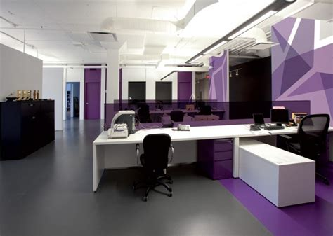purple office decor inspiration offices clad in purple the color of royalty