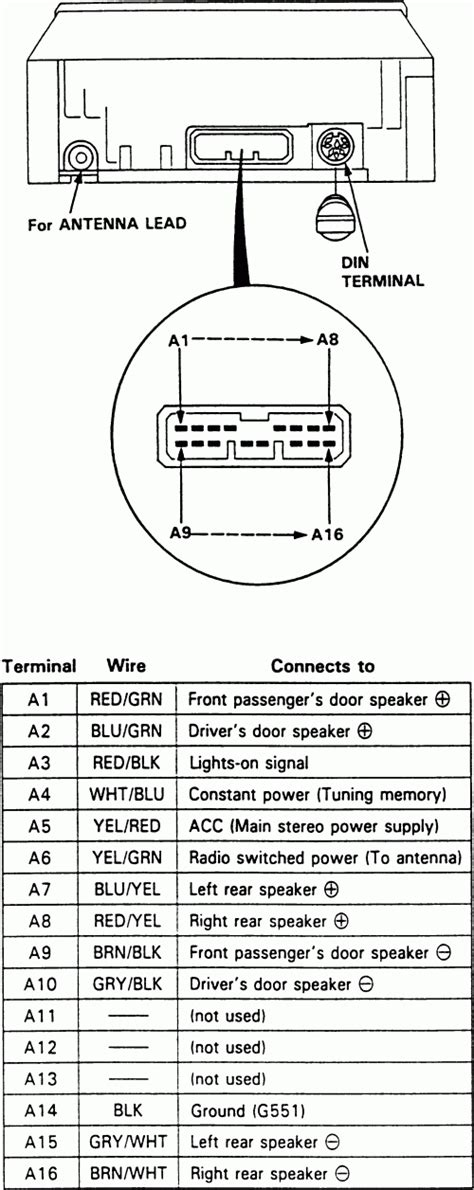 1990 acura integra radio wiring diagram wiring diagram