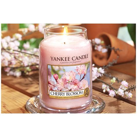 candele yankee candle cherry blossom large jar candles yankee candle