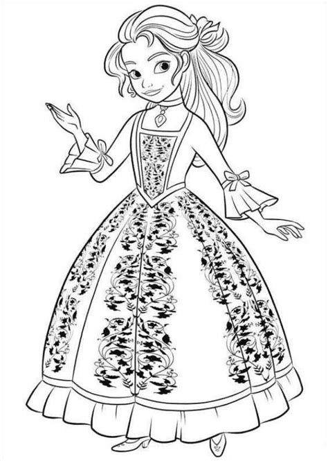 printable coloring pages elena of avalor kids n fun com 44 coloring pages of elena of avalor