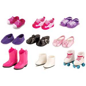 my life as shoe set 18 quot doll 9 pack dolls amp dollhouses
