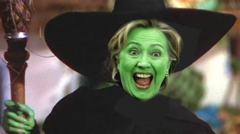 a witch clinton as a witch