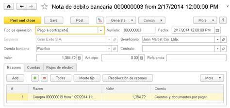 argentina que es una nota credito y debito bancaria nota de d 233 bito bancaria contabilidad documentaci 243 n