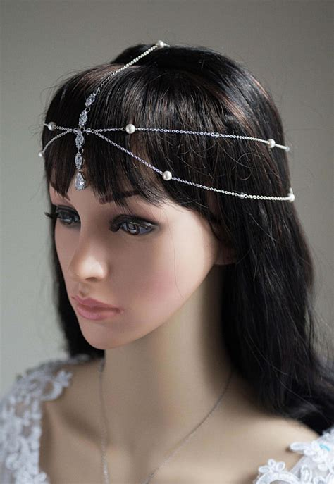 Wedding Hair Accessories Halo by 1920s Hair Jewelry Unique Wedding Headpiece Wedding Hair
