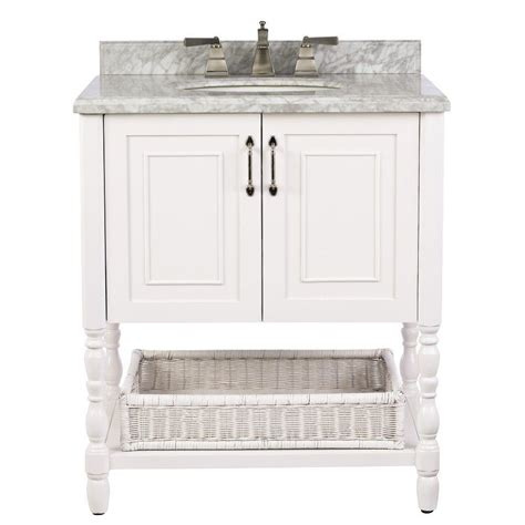 home depot bathroom vanities white home decorators collection karlie 30 in w x 22 in d bath
