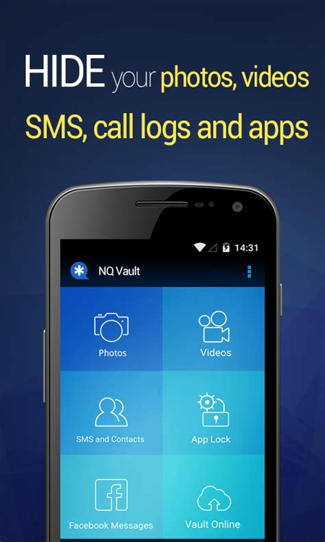 hide text messages android vault hide sms pics android apps on play