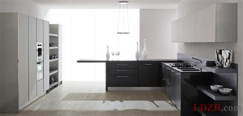 modern black and white kitchens modern black and white kitchen home design and ideas