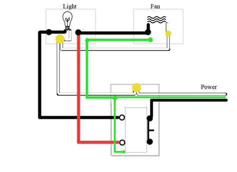 wiring bathroom fan with light house wiring diagrams for lighting circuits xenon strobe