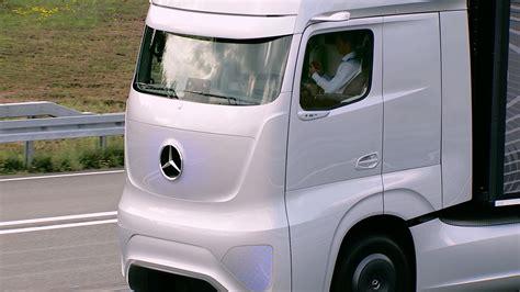 future mercedes truck mercedes future truck 2025 autonomous driving