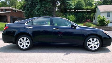 lexus cars 4 door 2009 lexus es350 sedan 4 door 3 5l