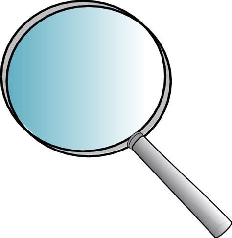 Magnify Glass Clipart big magnifying glass clip at clker vector clip