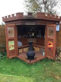turning your shed into a bar is genius 28 photos