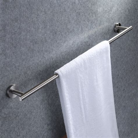 Towel Hanger kes 30 inch towel bar bathroom shower organization bath single towel hanger holder brushed sus