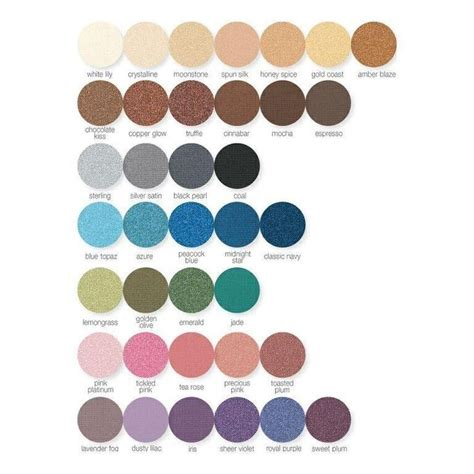 mineral eye color mineral eyeshadow colors http www marykay
