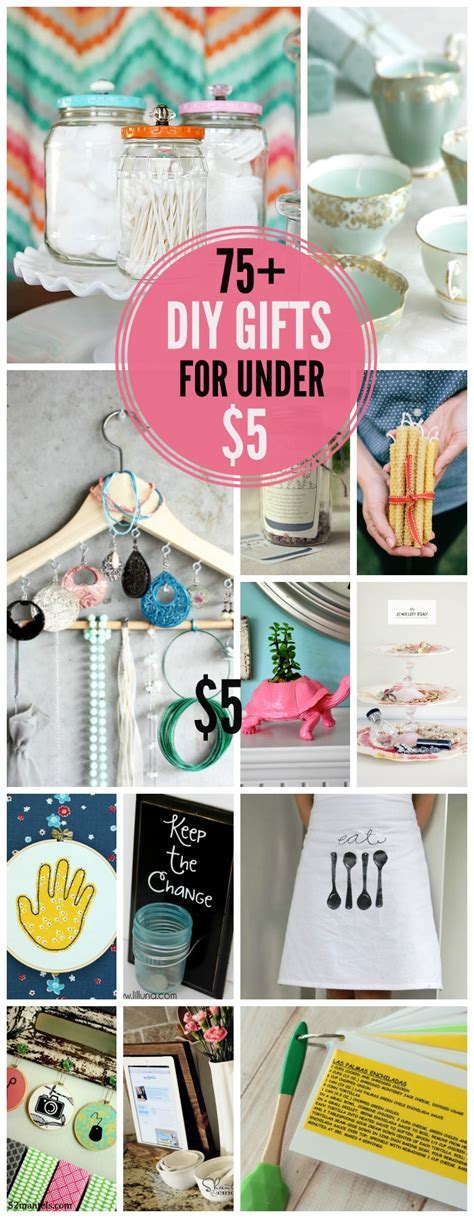 Handmade Gifts Ideas - inexpensive gift ideas