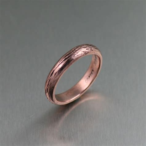 copper for jewelry copper bark ring
