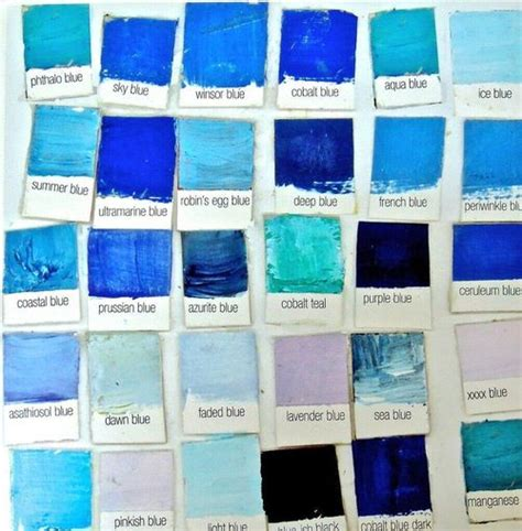 blue color names 41 best name that color images on pinterest color