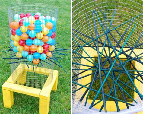backyard kerplunk game 50 outdoor games to diy this summer brit co