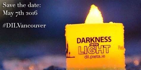 from darkness into light darkness into light events to take place across canada