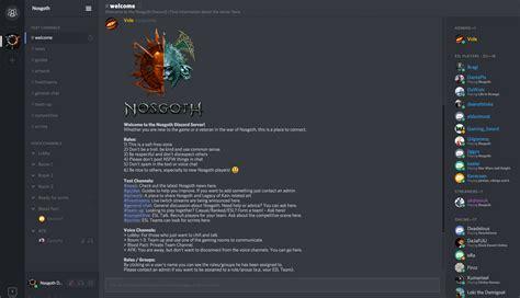 discord server nosgoth discord server