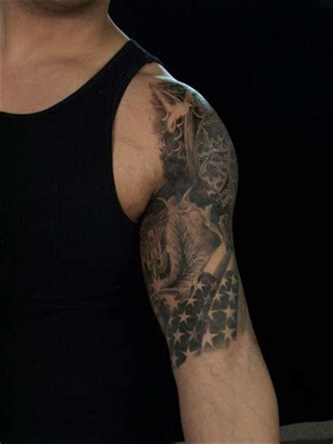 three quarter sleeve tattoo ideas cool half sleeve tattoo ideas