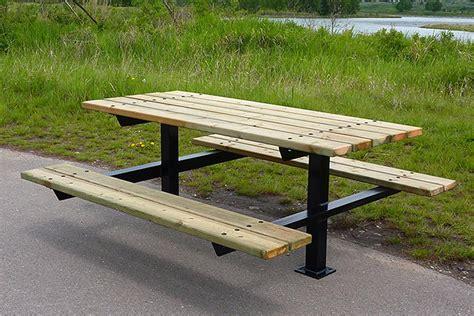 series a1 picnic tables custom park leisure