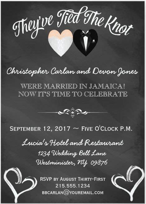 Hochzeitsfeier Einladung by 21 Beautiful At Home Wedding Reception Invitations