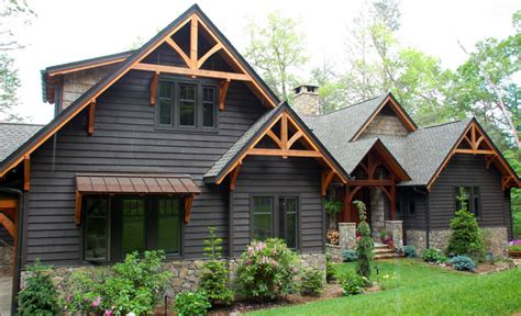 mountain house exterior paint colors 15 modern rustic homes with black exteriors