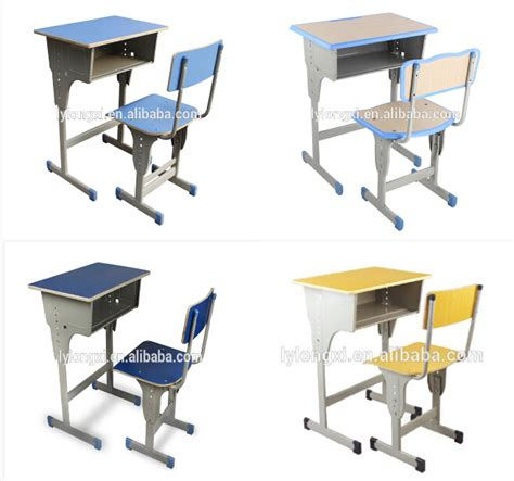 Used School Desks by Top Sale Used School Furniture Adjustable School Desk And