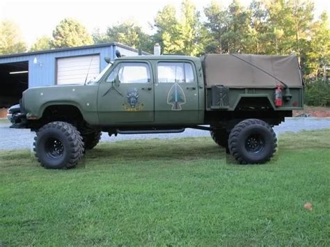 military truck bed sick old dodge ram jam pinterest utility trailer