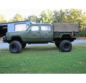 Army Utility Trailer As Pickup BedVery Nice  Dream